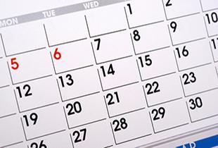 イベントカレンダーのイメージ